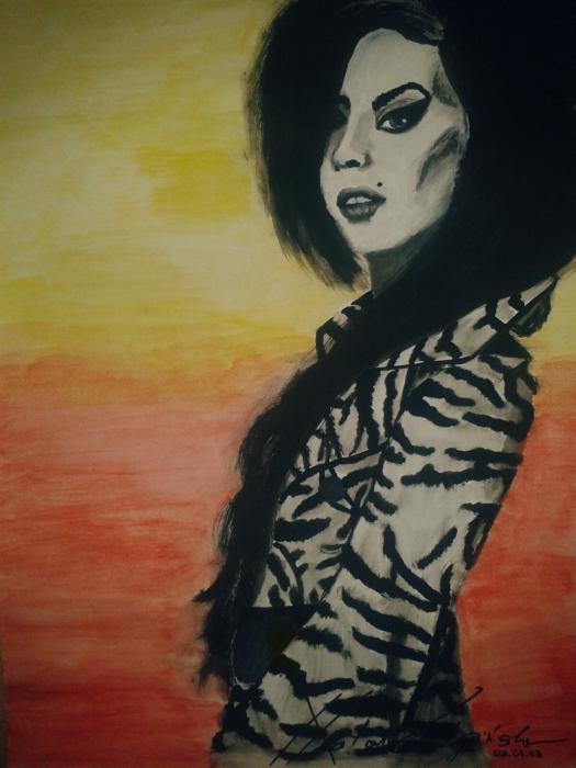 Amy Winehouse by BlueEyes